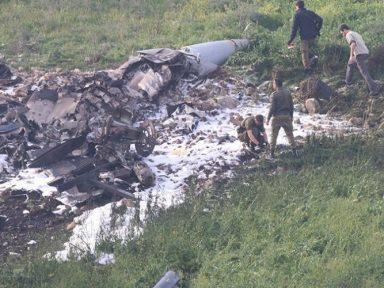 Defesa síria abate caça agressor israelense