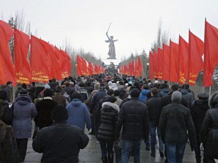 Rússia comemora 75 anos da vitória em Stalingrado