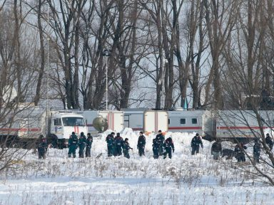 Queda de avião perto de Moscou deixa 71 mortos