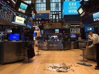 'Bolha de Tudo' assombra Wall Street
