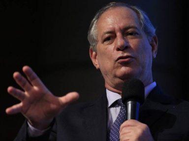 Ciro: todo mundo sabe que Lula não será candidato