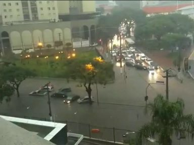 SP: mil desabrigados e três mortos após chuva