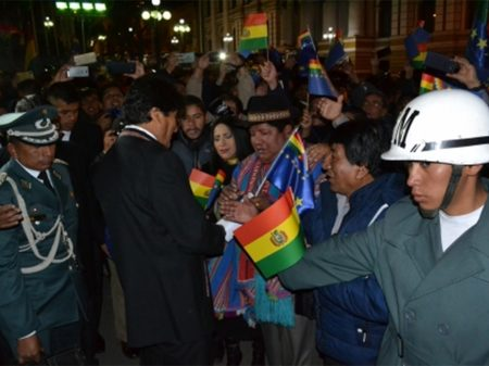 Evo Morales avalia que houve avanço em Haia sobre obrigação do Chile em negociar acesso do país ao mar