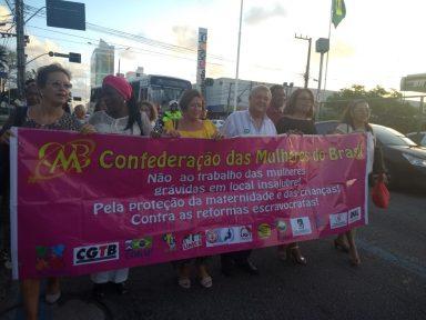Mulheres brasileiras repudiam o ataque a direitos