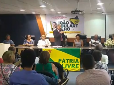 """""""De 1995 a 2017, R$ 6,5 trilhões foram transferidos só de juros aos bancos"""", diz João Goulart Fº"""