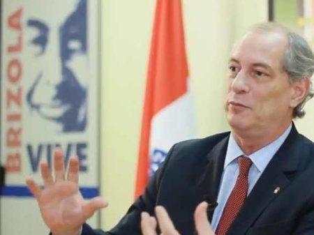 """Ciro defende mudanças no BC e """"fim da especulação que está matando o país"""""""