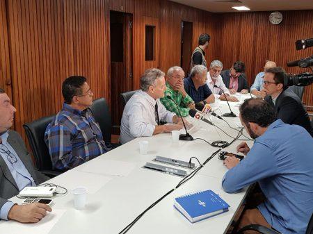 João Vicente Goulart, pré-candidato a presidente, defende legado do pai em BH