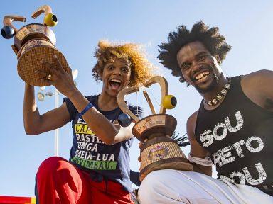 Gugu Quilombola e Bibinha vencem campeonato de capoeira Red Bull Paranauê