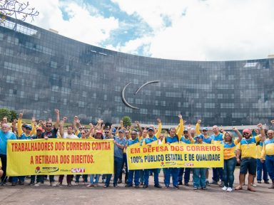 """Correios: """"Cortamos direitos ou privatizamos"""", ameaça Ministro"""