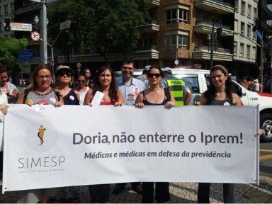 SP: Médicos aderem à greve contra 'reforma'