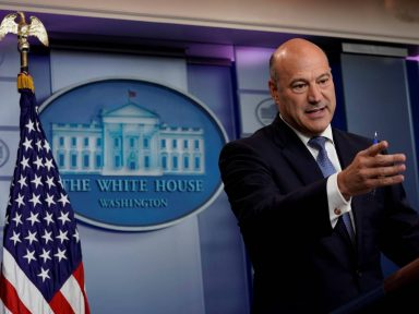 "Gary Cohn deixa governo e torna-se a 1ª baixa de Trump na ""guerra do aço"""