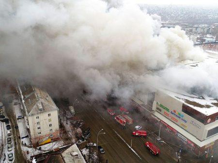 Rússia: incêndio num shopping em Kemerovo deixa 64 mortos