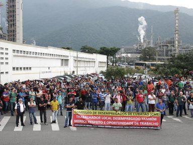 Refinaria de Cubatão: funcionários repudiam arrocho e privatização