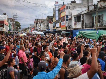 Pedidos de asilo da América Central crescem 58% em um ano