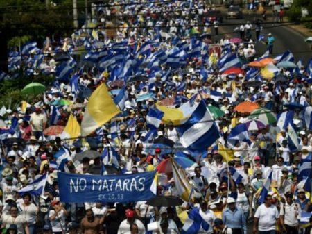 """Nicarágua: marcha pela """"Paz e Justiça"""" exige mudanças e fim da repressão a manifestações"""