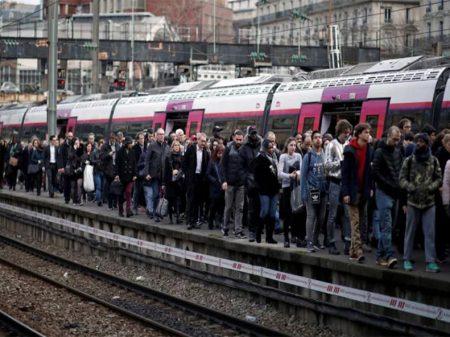 França: trens param na jornada de lutas contra privatização da SNCF