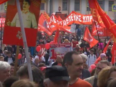 PC da Rússia no 1º de Maio: unidade dos trabalhadores para mudar o país