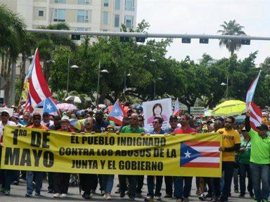 Porto Rico faz greve geral no 1º de Maio contra arrocho e descaso