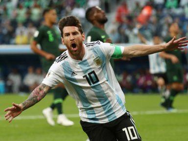 Argentina supera Nigéria e está classificada