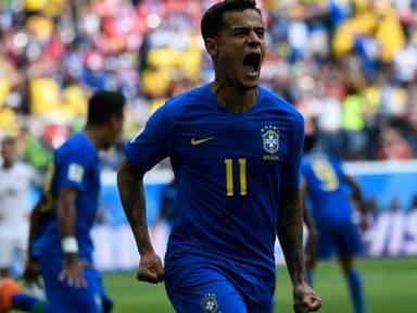 Brasil domina jogo, mas passa sufoco para vencer Costa Rica