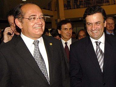 Gilmar afronta o país e arquiva inquérito contra Aécio Neves