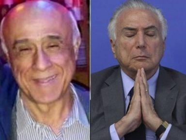 Capanga de Temer mandou dinheiro para fora do país, diz PF