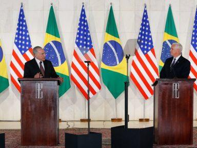 Temer entrega céu brasileiro aos Estados Unidos