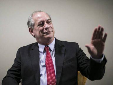 """Ciro Gomes: """"não rivalizo com Bolsonaro, rivalizo com Lula"""""""