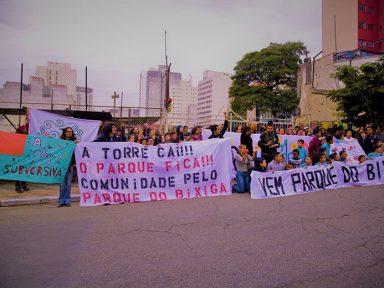 Manifestação pelo Parque do Bixiga leva população à Câmara de São Paulo