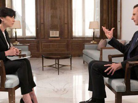 """""""A reconstrução da Síria dispensa EUA e demais que bancaram terroristas"""", afirma Assad"""