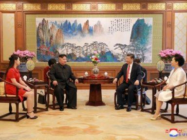 Kim Jong Un reúne-se com Xi Jinping para reforçar cooperação