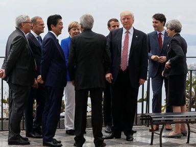 Trump desconta no premiê do Canadá o fiasco do G7