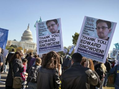 Snowden completa 5 anos de exílio por denunciar vigilância nos EUA