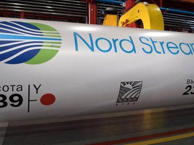 Pressões de Washington não param gasoduto  Nord Stream-2