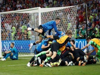 Croácia e Inglaterra avançam para as semifinais na Copa da Rússia