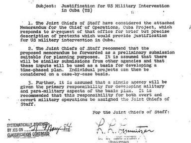 Operação Northwoods: McNamara, CIA e CSN aprovaram assassinato de astronauta americano para culpar Cuba