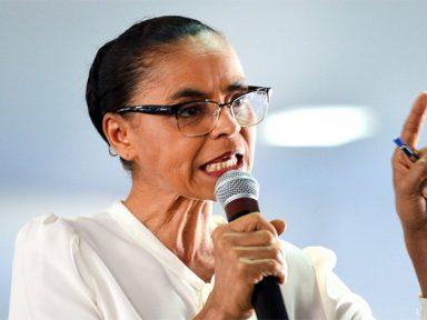 Nessas eleições, quem deve estar no centro é o povo brasileiro, diz Marina