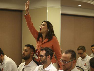 Valéria Monteiro é expulsa de convenção do PMN