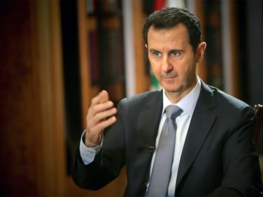 """Assad: """"A Síria está vencendo os terroristas financiados pelos EUA"""""""
