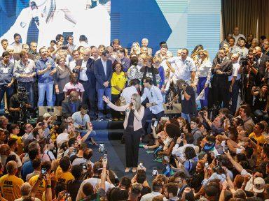 Nenhuma faixa e nada de falar em Temer na convenção do PMDB-SP
