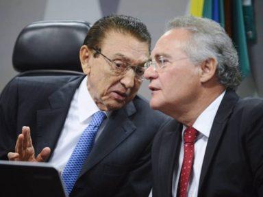 Lobão e Renan vão a Curitiba e defendem 'colega' preso
