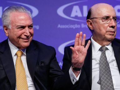 """Meirelles alardeia que tem """"vasta maioria"""" do MDB lhe dando apoio"""