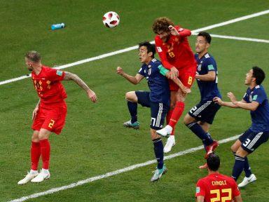Bélgica desclassifica o Japão de virada aos 48' do segundo tempo