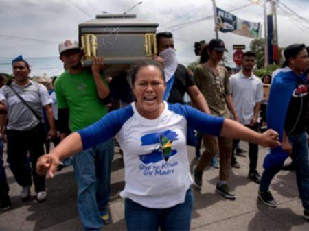 ONU exige de Ortega que pare a violência contra nicaraguenses