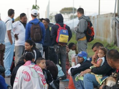 Temer quer senhas para entrada de venezuelanos
