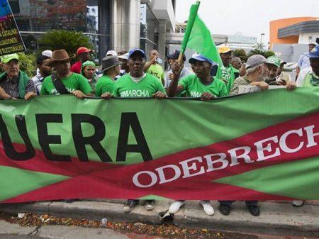 Dominicanos exigem fim da impunidade da Odebrecht no assalto a cofres públicos