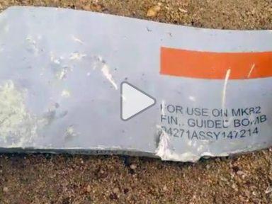 CNN aponta as bombas norte-americanas utilizadas  durante genocídio no Iêmen