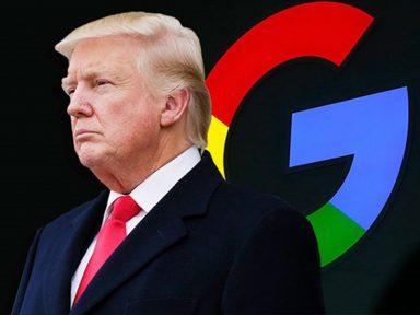 'Google não vê meu lado bom', chia Trump