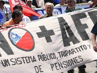 Destruição da Previdência Social no Chile aumenta taxa de suicídios de idosos