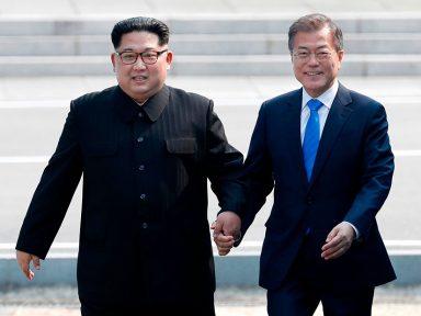 Kim e Moon marcam nova cúpula para setembro em Pyongyang